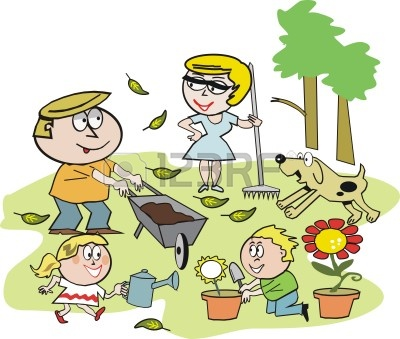 7067991-cartoon-jardin-familial